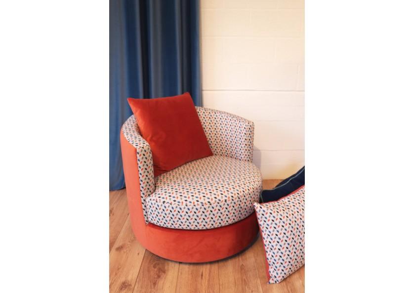 fauteuil SOHO tissu METROPOLIS rideau PALACE